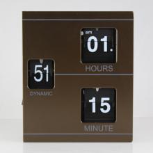 Wooden Book-shape Flip Clock