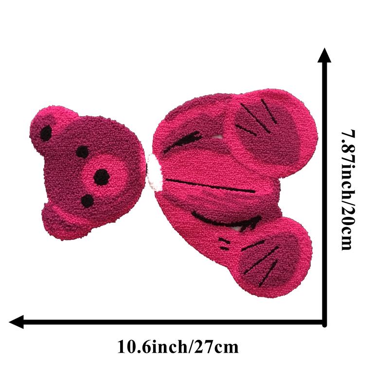 Towel Bear Embroidery