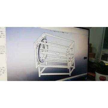 neues Design Automatische Rohrprofillackiermaschine