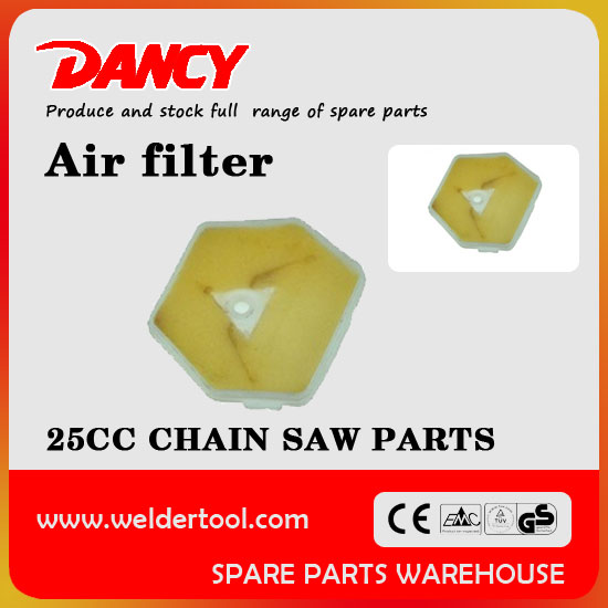25CC gas chain saw air filter