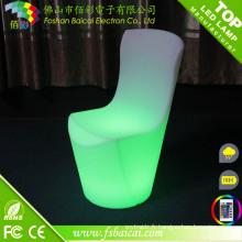 Chaise à manger LED avec batterie rechargeable