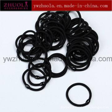 Bande de cheveux élastique noire