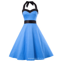 Grace Karin Frauen Kleidung 2017 Sommerkleid Retro Swing Kleid Pin up Plaid Robe Vintage 50er 60er Rockabilly Kleid CL010496-5