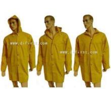 Manteau de pluie avec revêtement de PVC