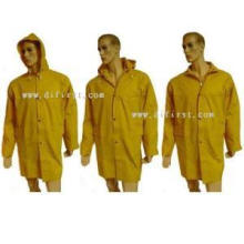 Rain Coat with PVC Coating