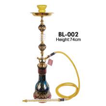 Arabische Art Goldblume großes Shisha Bl-002