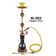 Arabic Style Gold Flower Big Shisha Bl-002