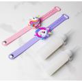 Dispensador de pulseira de suporte para desinfetante de mão para crianças extravagantes