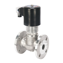 explosion proof  Threaded Flange Steam Thermal oil high temperature solenoid valve