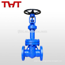 dn80 pn16 resilient seat bellow seal din f4 gate valve