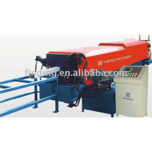 Down water pipe forming machine