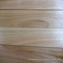 Chão de madeira de bunda preta projetada