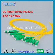 12 Core LC fibra óptica Pigtail