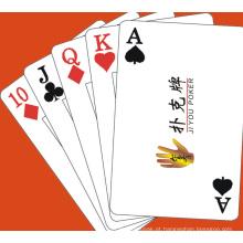 Cartões de jogo personalizados / cartões personalizados do póquer com logotipo