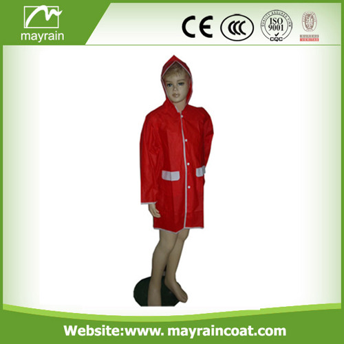 Cheap Child PVC Raincoat