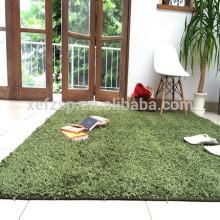 tapis de haute qualité en polyester shaggy Chine