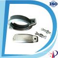 Ду80 3-дюймовый Стиль Виктолического соединения ss304 нержавеющей стали струбцины для штуцеров трубы