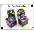 High Quality Custom CMYK Full Color Printing Dice