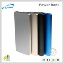 Dual USB Port External Slim Batería móvil 4000mAh Power Bank