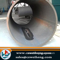 JIS G3444 STK290 -540 LSAW steel spiral hot dipped galvanized pipe used for water ,oil and gas