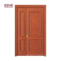 Modèles de cadre de porte en bois à double porte extérieure en bois