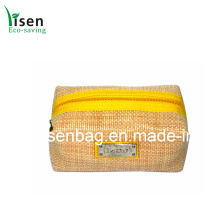 Novo estilo de moda palha saco cosmético (YSCOS00-025)