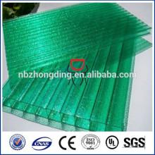 Chine plaque creuse en polycarbonate / feuille de sol en polycarbonate / fabricant de feuilles de soleil pour pc