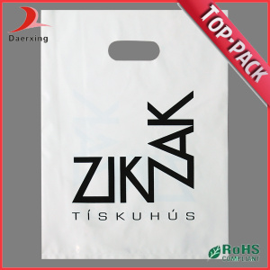 Customized Handle Plastic Die Cut Bags