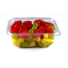 Personalizando caixa de embalagem de plástico de cereja transparente