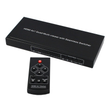 HDMI 4x1 Quad Multi-viewer with switch function