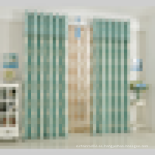Estilo europeo Jacquard patrón cortina de tela de cortina