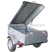 ATV dump trailer,atv wood trailer,atv camper trailer with tip bed&cover(007)
