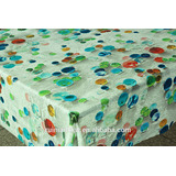 Printed Rainbow Bubble Table Cloth antislip heat insulation waterproof dinning plastic oilcloth TC94-R103-1
