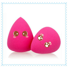 Gros marché cosmétiques colorées font place éponge maquillage Konjac faciale éponge Baby Powder Puff