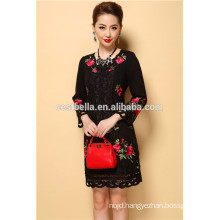 long sleeve coat ethnic outwear casual embroidered Coat Dress winter trench coats
