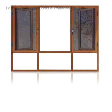 Bespoke Aluminium Windows with Double Glazed (FT-W108)