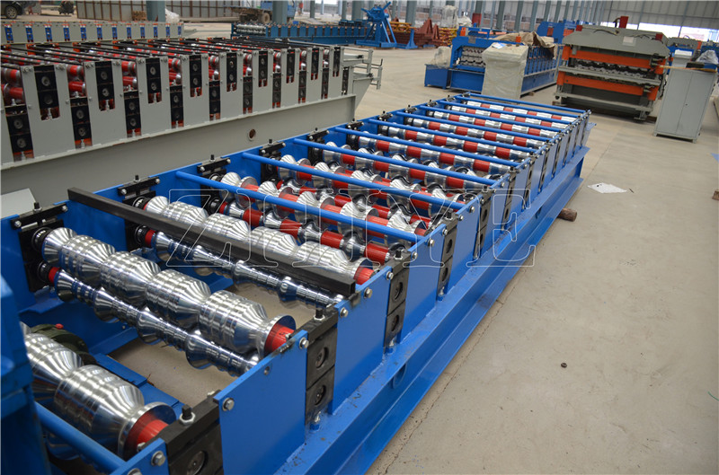 Glazed Steel Cold Rolling Machine