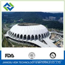 Tennis court tent tensile structure ptfe architectural Membrane