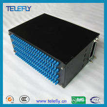 4u 96 Ports 19inch Fiber Optic Patch Panel
