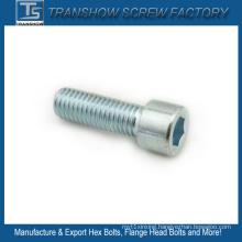 M8X16 Zinc Galvanized Steel Allen Bolt