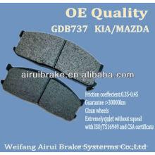 D1199-8319 KIA MAZDA break pad