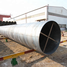 S235JRH SS400 Q235B Structure Carbon Spiral Welded Steel Pipe SSAW Large Diameter Welded Spiral Pipe