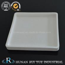 Rechteckige Form hoher Reinheit 99-99,97 % Aluminiumoxid Keramik Tiegel und Tiegel Boot