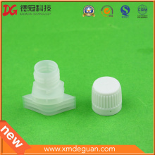 High Output Doypack 13mm Assembled Plastic Spout and Cap