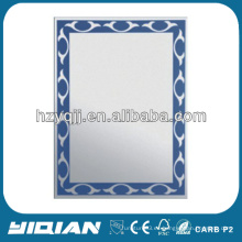 Espejo de baño de pared de vidrio China Espejo de baño moderno Espejo barato