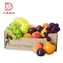 Fabriqué en Chine fruits jetables citronnier agriculture boîte impression