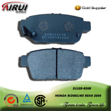 SEMI-METALLIC BRAKE PAD FOR HONDA RIDGELINE 2006