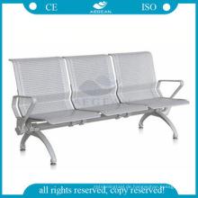 AG-TWC004 Metallrahmen in Dreisitzern Krankenhaus Metall Wartezimmer Stühle