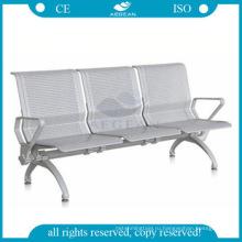АГ-TWC004 металлический каркас в три местные больницы металлическими зал ожидания стулья