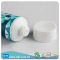 Offset printing hot stamping flip top cap plastic tube body lotion toothpaste